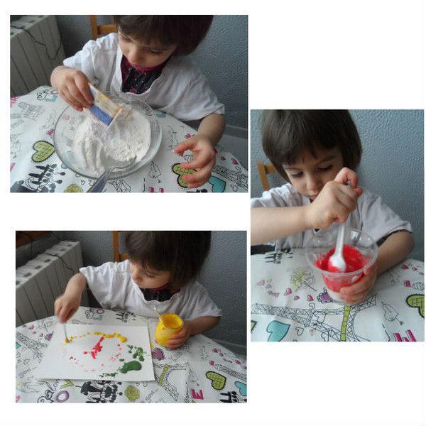 la peinture qui gonfle
